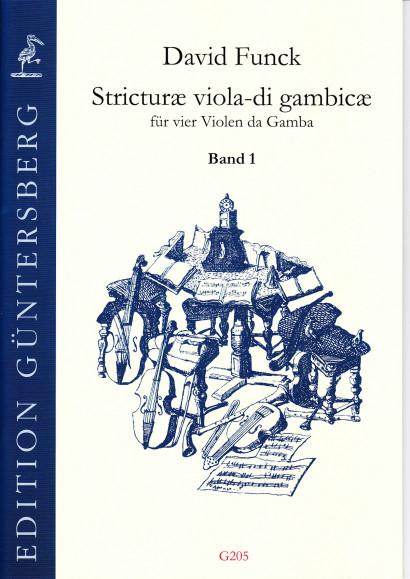 Funck, David (1648-1701): Stricturæ viola-di gambicæ<br>- Volume I (No. 1-16)
