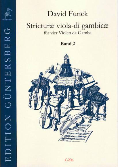 Funck, David (1648-1701): Stricturæ viola-di gambicæ<br>- Volume II (No. 17-32)