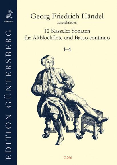 Händel, Georg Friedrich (1685–1759): 12 Kasseler Sonaten<br>– Sonatas 1–4