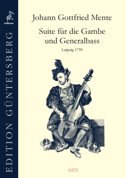 Mente, Johann Gottfried (1698–~1760): Suite
