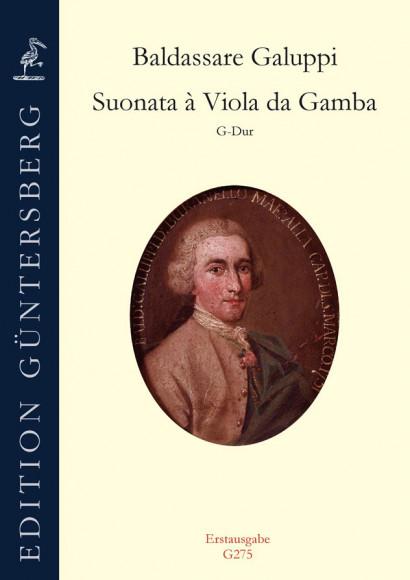 Galuppi, Baldassare (1706–1785): Suonata G-Dur