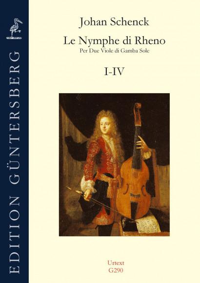 Schenck, Johan (1660–1717?): Le Nymphe di Rheno op. 8 – Sonaten I–IV