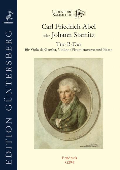 Abel, Carl Friedrich (1723–1787) oder Johann Stamitz (1717–1757): Trio B-Dur
