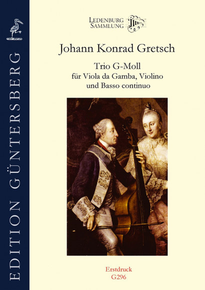 Gretsch, Konrad (~1710–1778): Trio g‐Moll