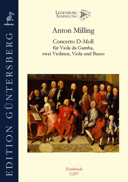 Milling, Anton (2nd half 18th century): Concerto D Minor