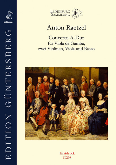 Raetzel, Anton (~ 1724–after 1760): Concerto A-Dur