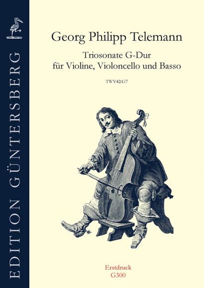Telemann, Georg Philipp (1681–1767): Triosonate G-Dur TWV 42:G7
