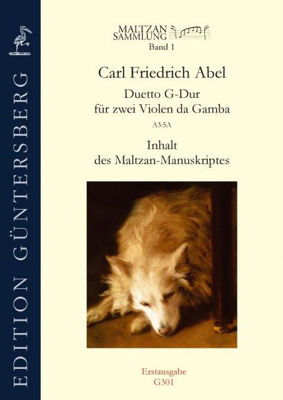 Abel, Carl Friedrich (1723–1787): Duetto G-Dur (Maltzan I)