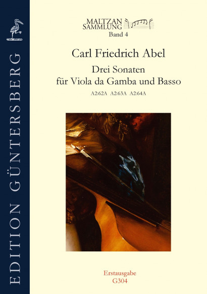 Abel, Carl Friedrich (1723–1787): Three Sonatas (Maltzan IV)