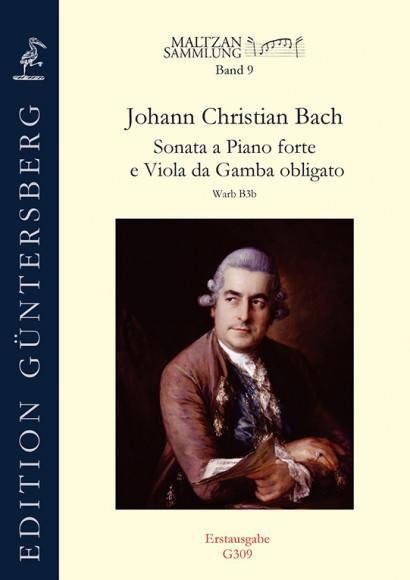 Bach, Johann Christian (1735–1782): Sonata a Piano forte e Viola da Gamba obligato (Maltzan IX)