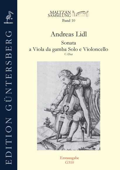 Lidl, Andreas (?–before 1789): Sonata C Major (Maltzan X)
