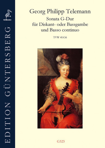 Telemann, Georg Philipp (1681–1767): Sonata G Major TWV 41:G6