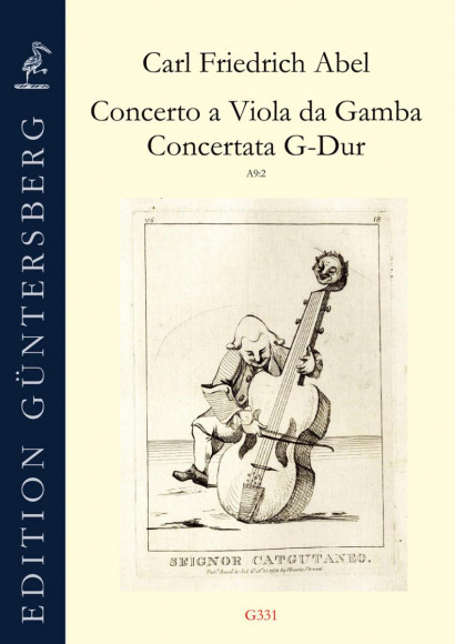 Abel, Carl Friedrich (1723–1787):  Concerto a Viola da Gamba – Concertata G-Dur