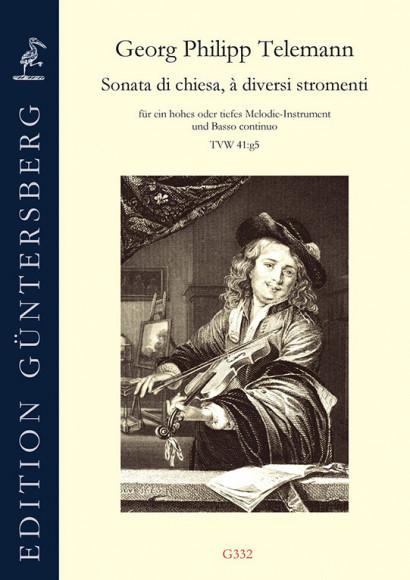 Telemann, Georg Philipp (1681–1767): Sonata di chiesa, à diversi stromenti g-Moll TWV 41:g5