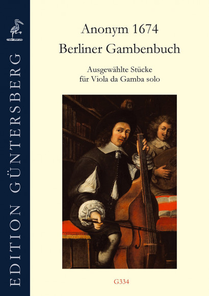 Berliner Gambenbuch (Anonym, 1674): Selected Pieces