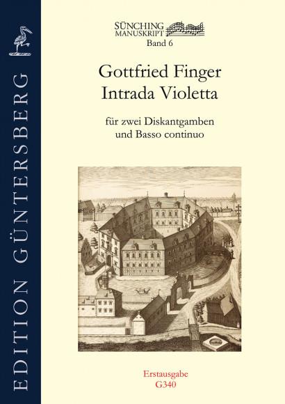 Finger, Gottfried (~1660–1730):Intrada Violetta