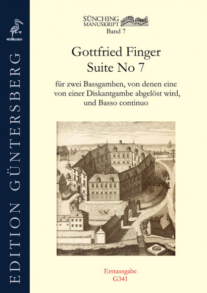 Finger, Gottfried (~1660–1730): Suite No 7