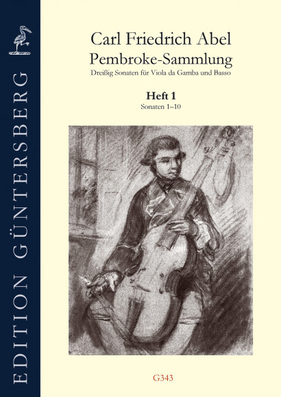 Abel, Carl Friedrich (1723–1787):Die Pembroke-Sammlung– Sonaten 1–10