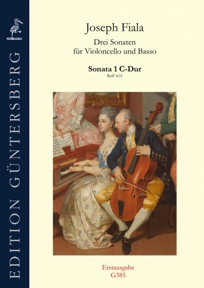 Fiala, Joseph (1748–1816): Sonata 1 C-Dur