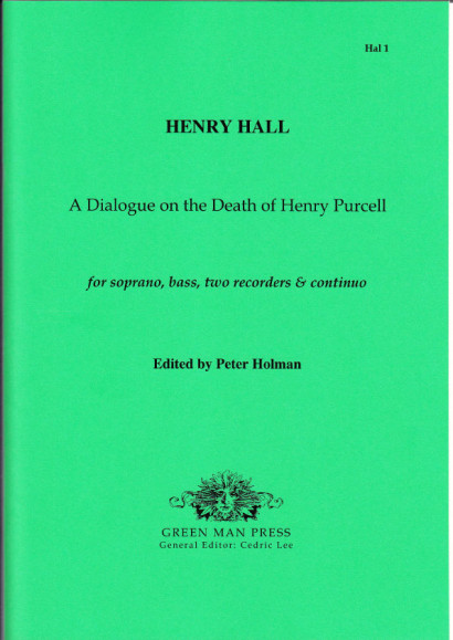 Hall, Henry (1665-1707): A Dialogue