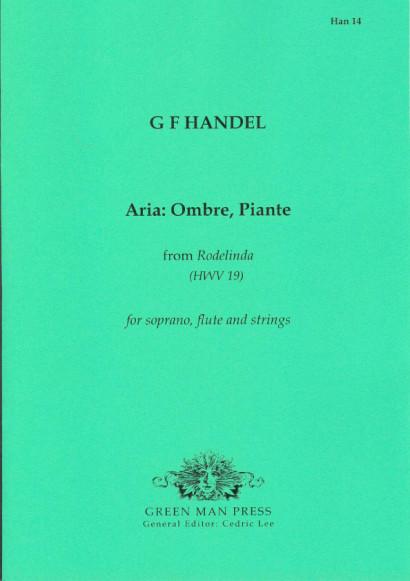 "Händel, Georg Friedrich (1685-1759): Aria ""Ombre, Piante"""