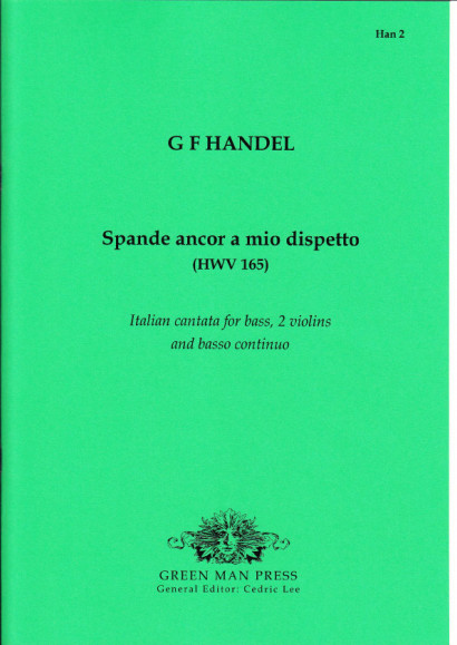 Händel, Georg Friedrich (1685-1759): Spende ancor a mio dispetto