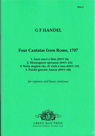 Händel, Georg Friedrich (1685-1759): Vier Kantaten aus Rom 1707