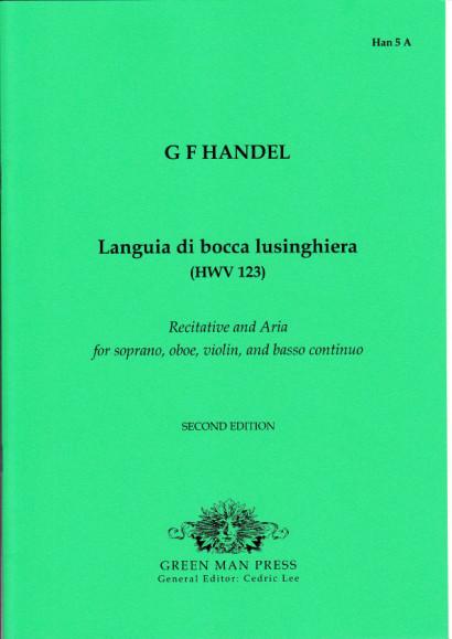 Händel, Georg Friedrich (1685- 1759): Languia di bocca lusinghiera