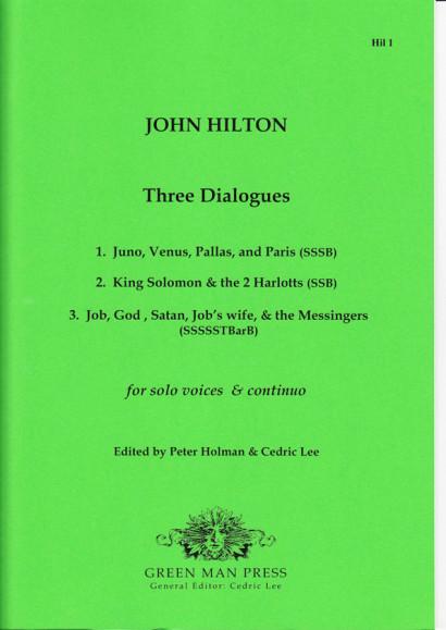Hilton, John (1599–1657): Three Dialogues