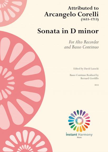 Corelli, Arcangelo ? (1653–1713): Sonate d-moll