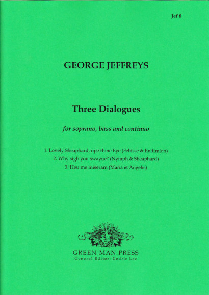 Jeffreys, George (?-1685): Three Dialogues
