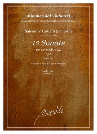 Lanzetti (Lancetti) (ca. 1710–ca- 1780): 12 Sonate op. 1
