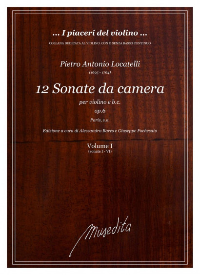 Locatelli, Pietro A. (1695–1764): 12 Sonate da camera op. 6