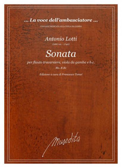 Lotti, Antonio (~1667–1740): Sonata (in F)