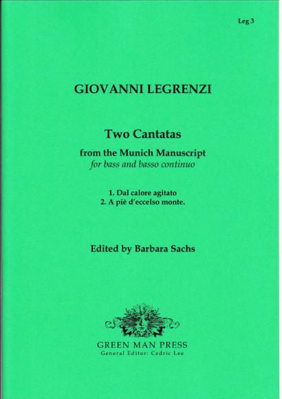 Legrenzi, Giovanni (~1626-1690): Zwei Kantaten