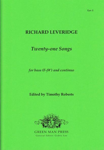 Leveridge, Richard (1670–1758): Twenty-one Songs
