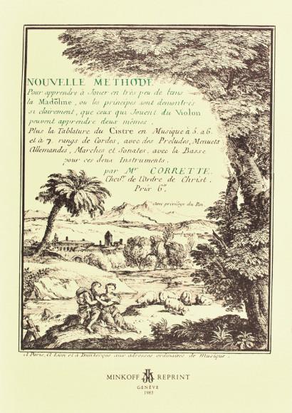 CORRETTE, Michel (1709–1795): Nouvelle méthode