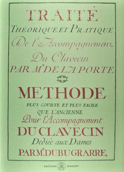 LA PORTE, Claude de (1719–1779) & DUBUGARRE: Traité théorique et pratique