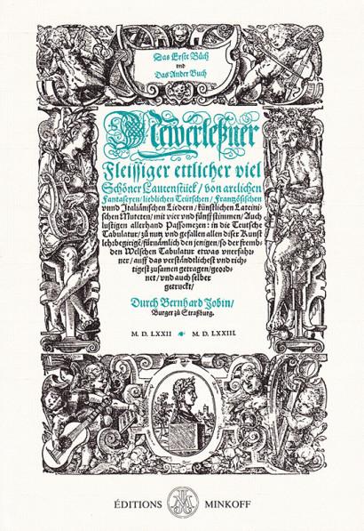 Jobin, Bernhard (?–c.1594):Das erste [-ander] Buch