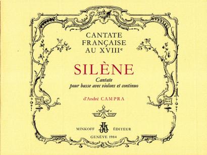 Campra, d'André (1660–1744): Silène