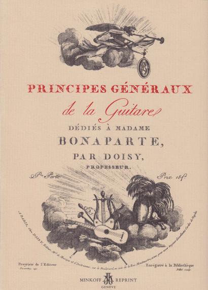 Doisy, Charles: Principes Généraux de la guitare