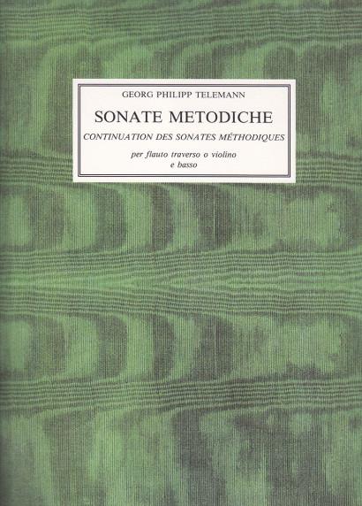 Telemann, Georg Philipp (1681–1767): 12 Sonate Metodiche op. 13