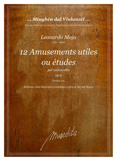 Moja, Leonardo (1811–1888): 12 Amusements utiles out études op. 9