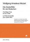 Mozart, Wolfgang Amadeus (1756–1791): Die Zauberflöte für vier Bratschen