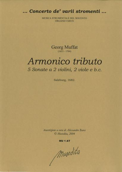 Muffat, Georg (1653–1704): Armonico tributo