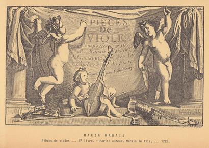Marais, Marin (1656–1728):Pièces de viole - Livre V