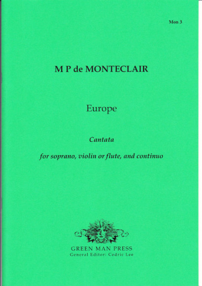 Monteclair, Michel Pignolet de (~1667-1737): Europe