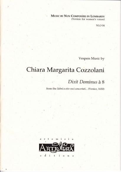 Cozzolani, Chiara Margarita (1602-~1677): Dixit Dominus<br>- Originalausgabe für gem. ChorCozzolani, Chiara Margarita (1602-~1677): Dixit Dominus<br>- Convent-version
