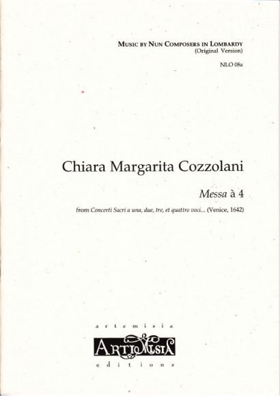 Cozzolani, Chiara Margarita (1602-~1677): Messa à 4<br>- original version for mixed choir