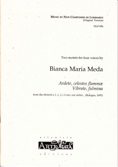 Cozzolani, Chiara Margarita (1602-~1677): Zwei Motetten à 4<br>- Originalausgabe für gem. Chor